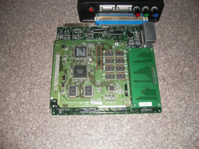 [vends] System NAOMI + 2 PCB Namco. Imgp1613