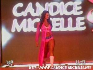Candice first match. Candic11