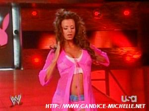 Candice first match. Candic14