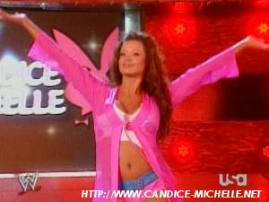 Candice first match. Candic15
