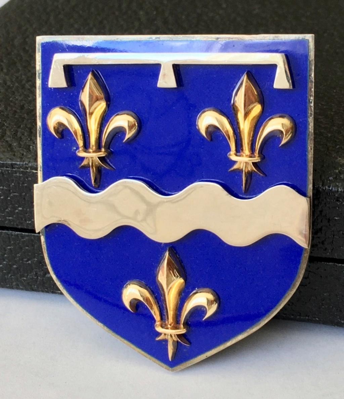 Médaille Blason de Joaillier-Fabricant en émail, ors et argent (Loiret) Avers_10