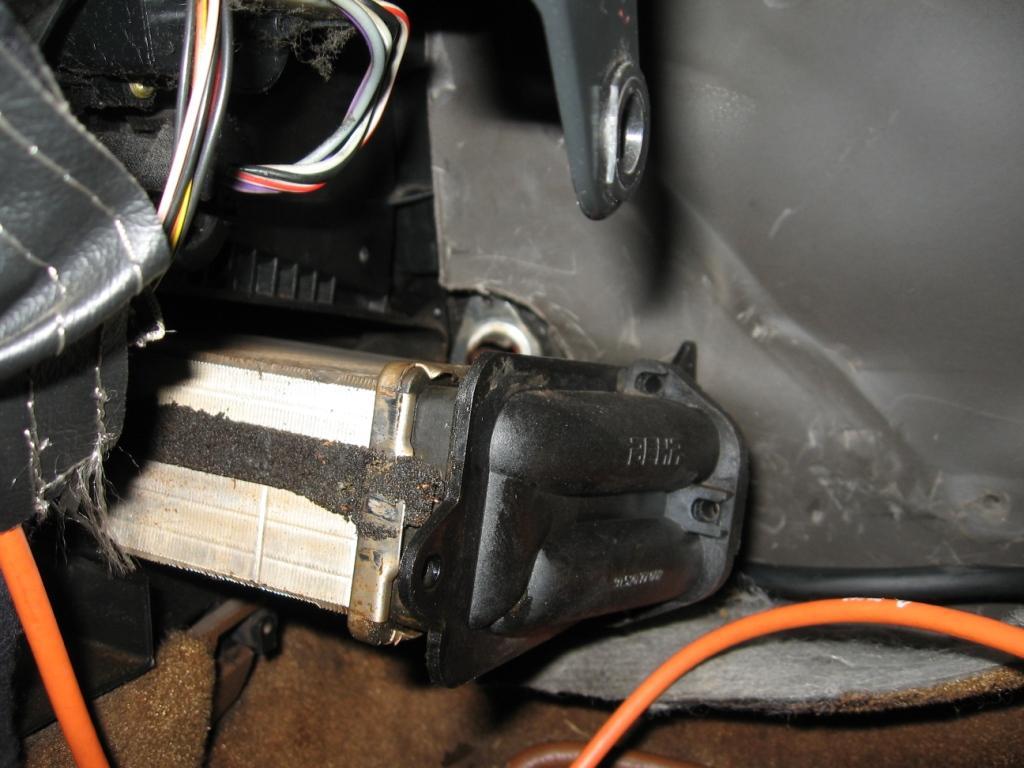 [TUTO] Changement du radiateur de chauffage R25 sans tomber le T.B. Pilota23