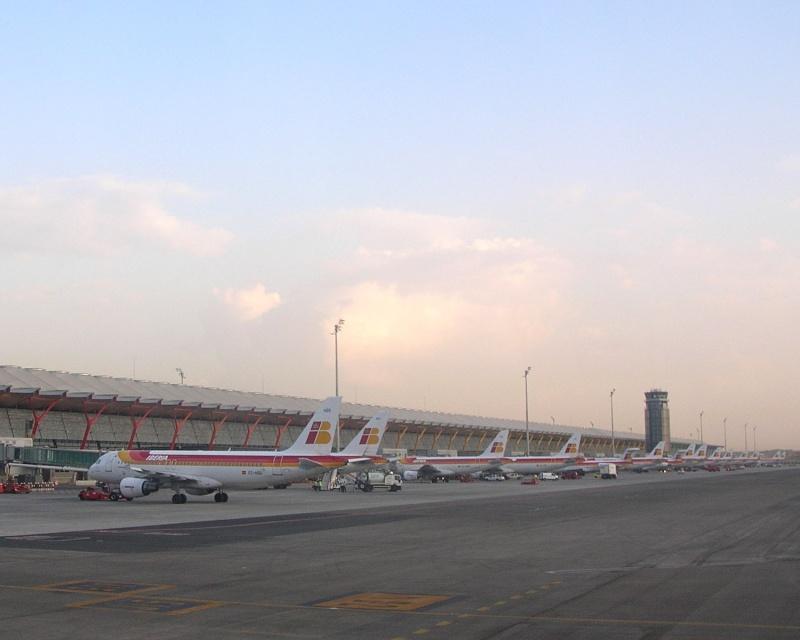 Madrid - Barajas (MAD / LEMD) G810