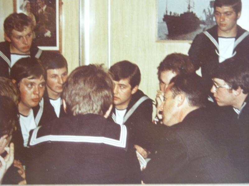 VISITE  de Sa Majesté le roi Baudouin à bord du ZINNIA ,1972 Dscn0013