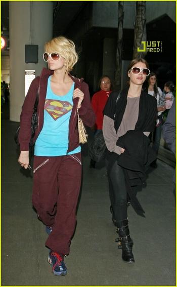 Candids: Paris Hilton to Star as Supergirl (17-12) Paris-11