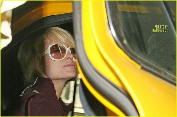 Candids: Paris Hilton to Star as Supergirl (17-12) Paris-12