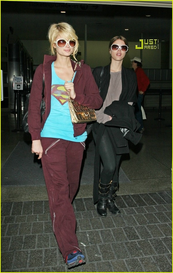 Candids: Paris Hilton to Star as Supergirl (17-12) Paris-21