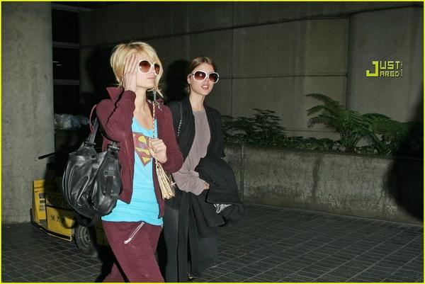 Candids: Paris Hilton to Star as Supergirl (17-12) Paris-23