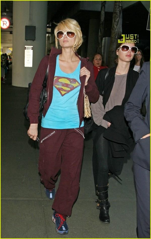 Candids: Paris Hilton to Star as Supergirl (17-12) Paris-26