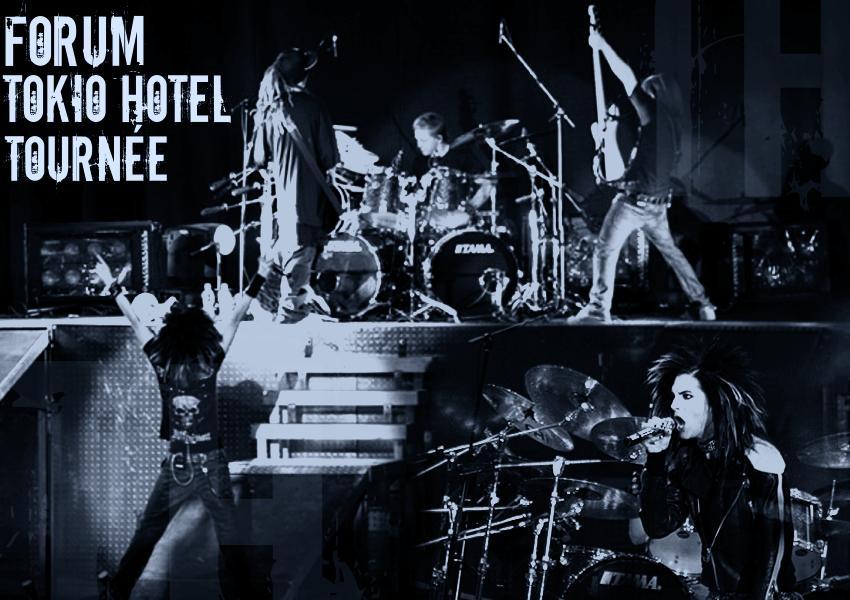 Tournée Tokio Hotel .