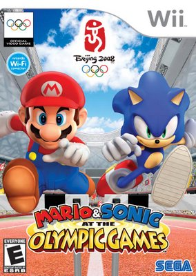 Wii - Mario and Sonic At Olympic Games (NTSC) Marioa10