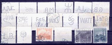 Lochung auf Briefmarken - Perfin - Österreich A192910