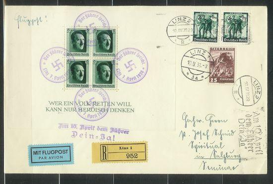 Ältere Flugpost aus Wien A1938111