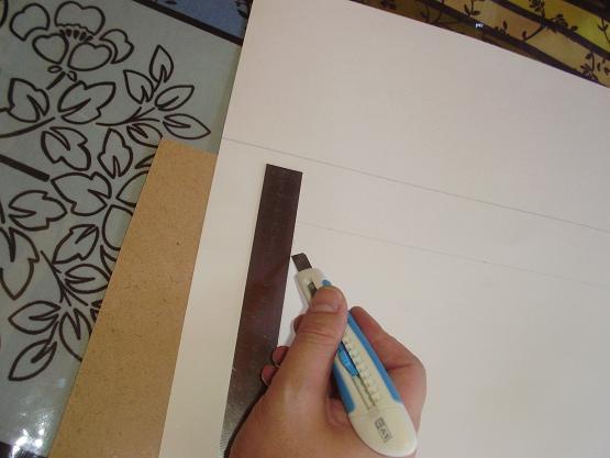 L'encadrement d'un de mes dessins  P1010733