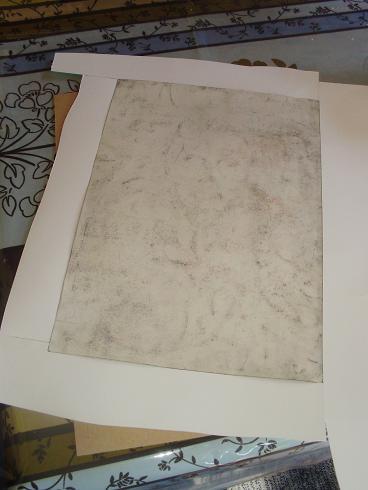 L'encadrement d'un de mes dessins  P1010742