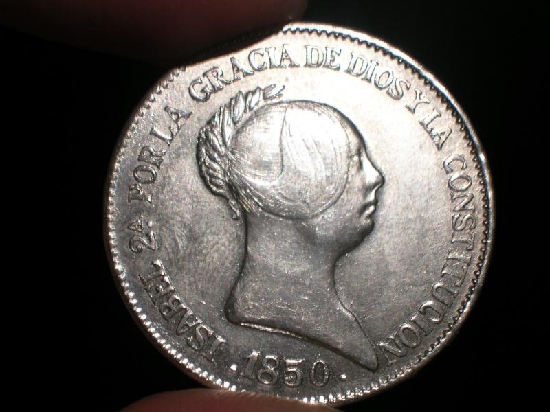 20 reales isabel II 1850 verdadera o falsa??? Dscn2214