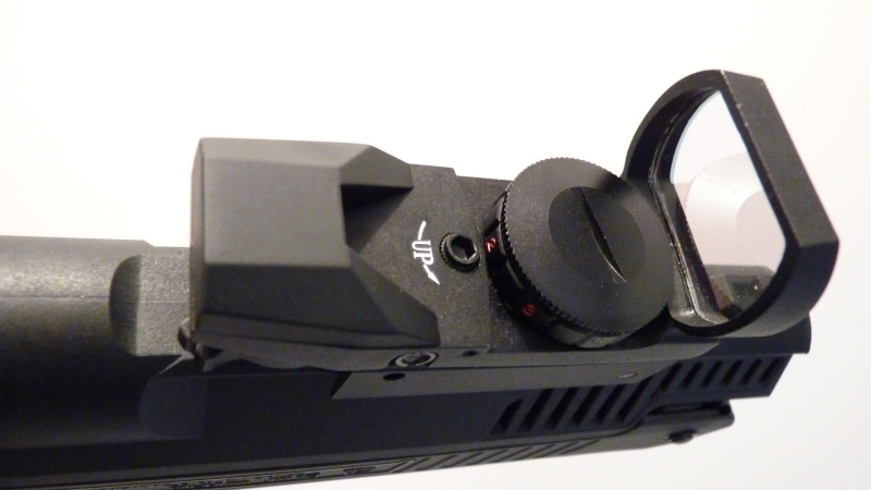 Zoraki HP-01 avec Red dot JH400 Présentation et test P1060018