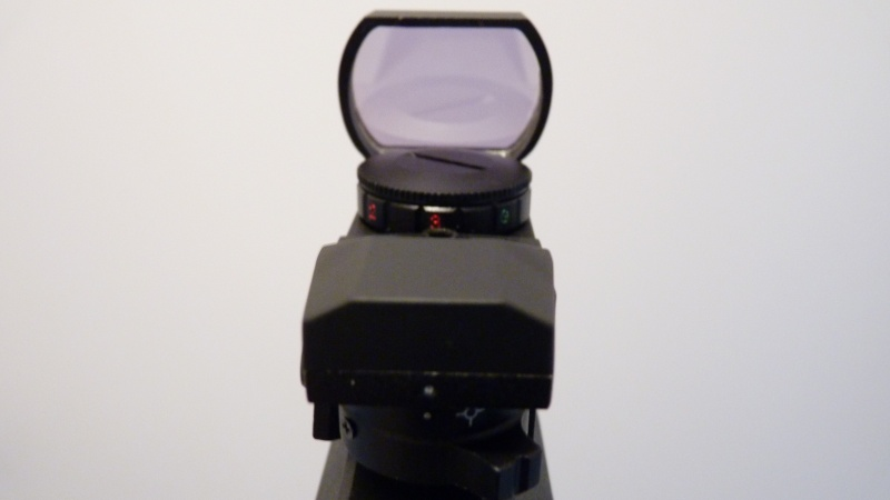 Zoraki HP-01 avec Red dot JH400 Présentation et test P1060020