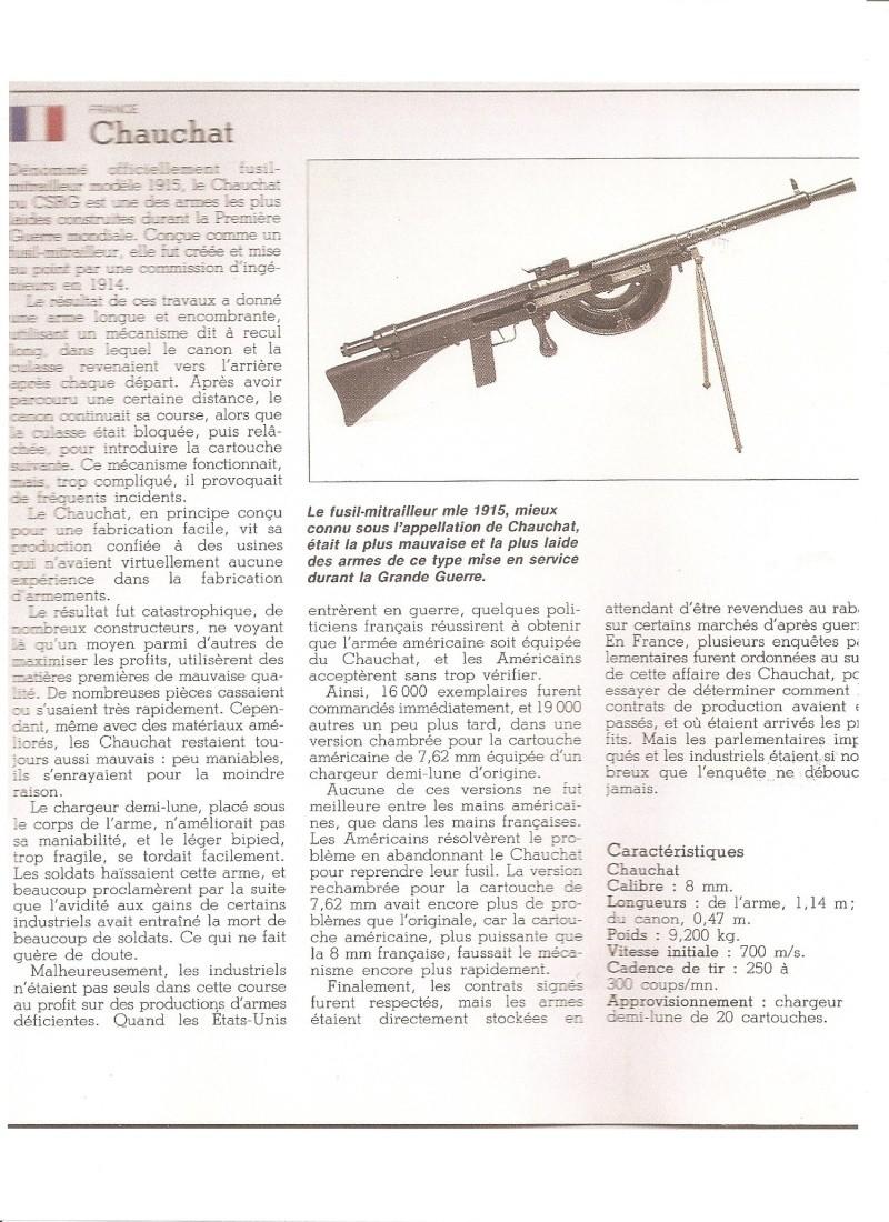 """Le """"fusil Mitrailleur"""" Chauchat Chauch10"""