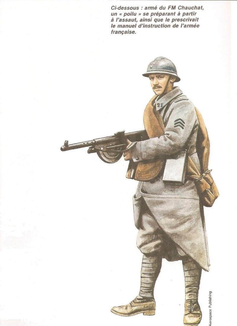 """Le """"fusil Mitrailleur"""" Chauchat Poilu_10"""