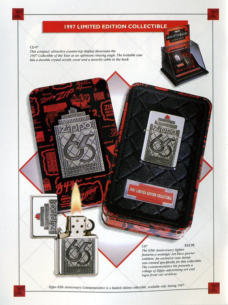 Catalogue ZIPPO Collection 1997 (version américaine) 0012