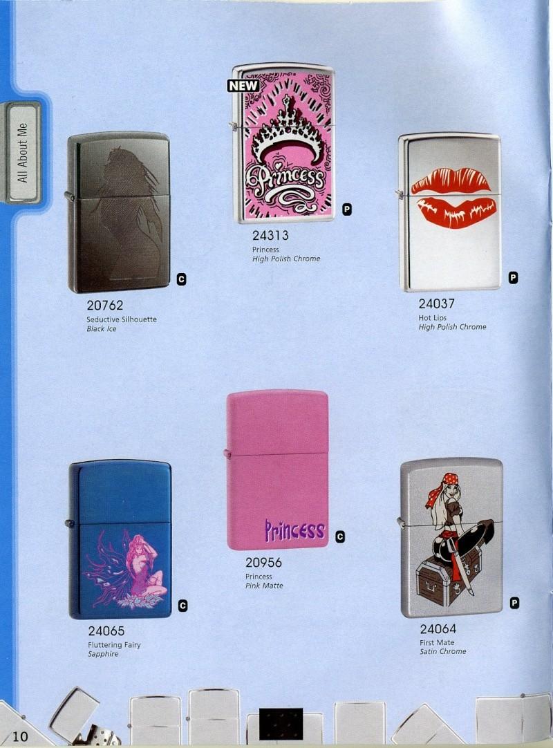 Catalogue ZIPPO 2008 Complete line (version américaine) 1010
