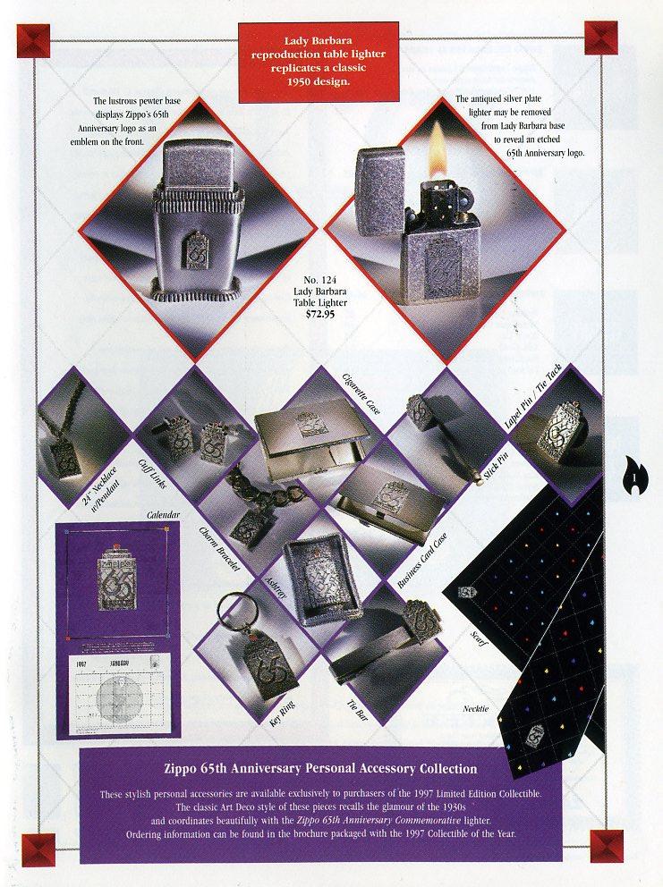 Catalogue ZIPPO Collection 1997 (version américaine) 111