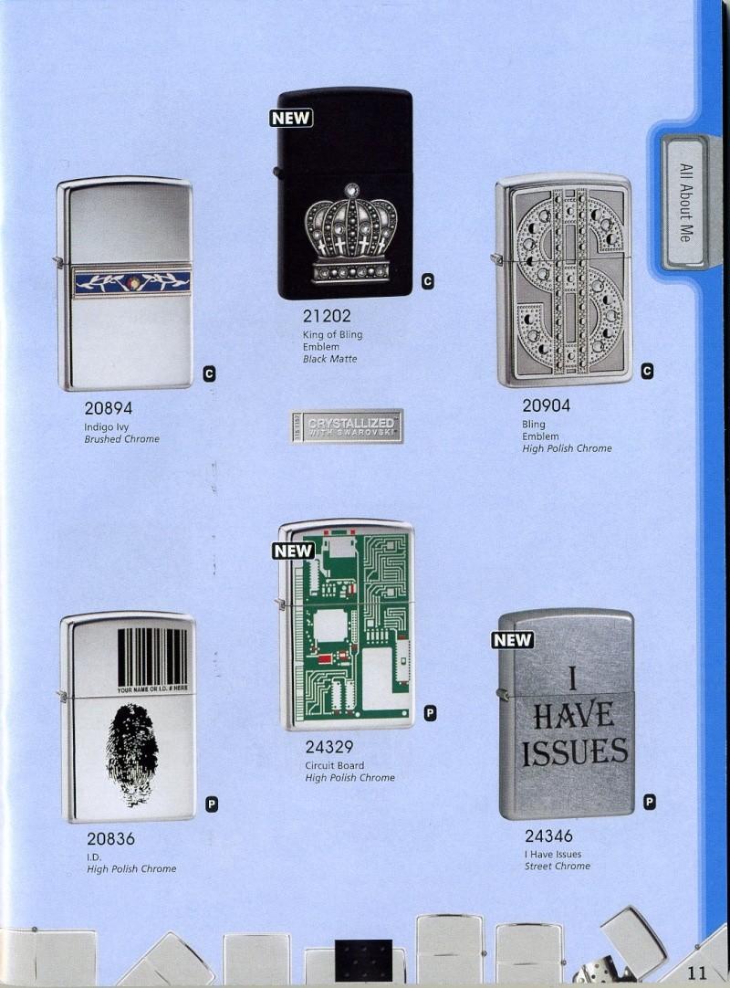 Catalogue ZIPPO 2008 Complete line (version américaine) 1110