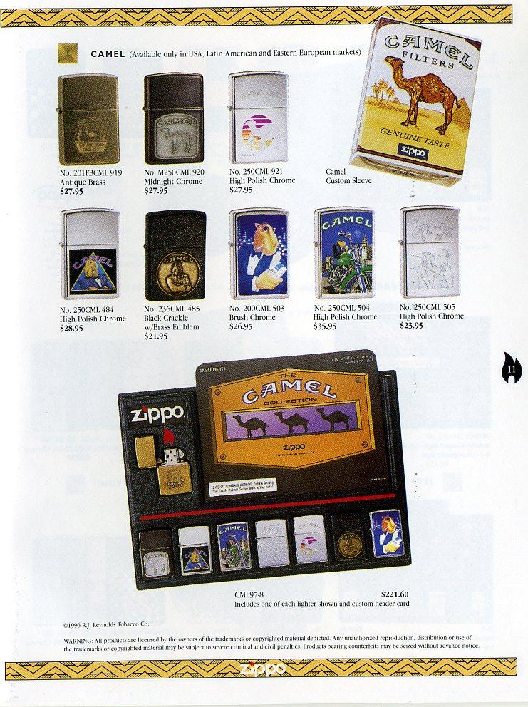 Catalogue ZIPPO Collection 1997 (version américaine) 1111