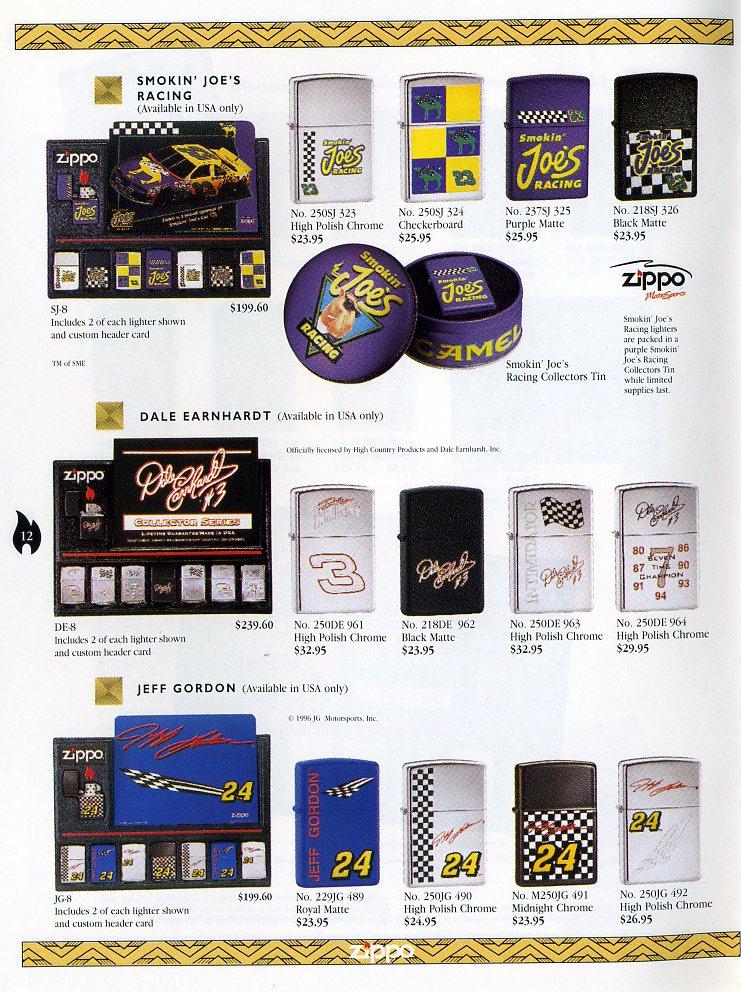 Catalogue ZIPPO Collection 1997 (version américaine) 1211