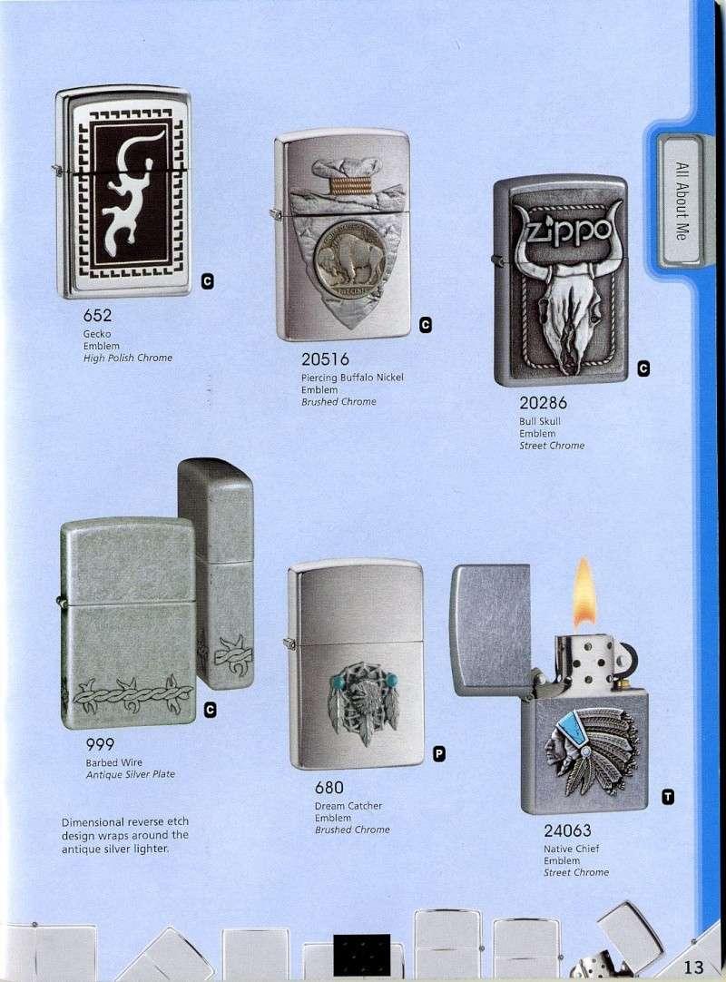 Catalogue ZIPPO 2008 Complete line (version américaine) 1310