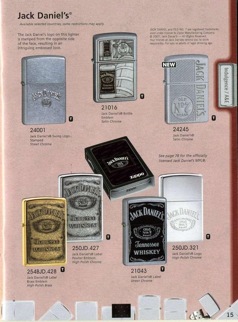 Catalogue ZIPPO 2008 Complete line (version américaine) 1510