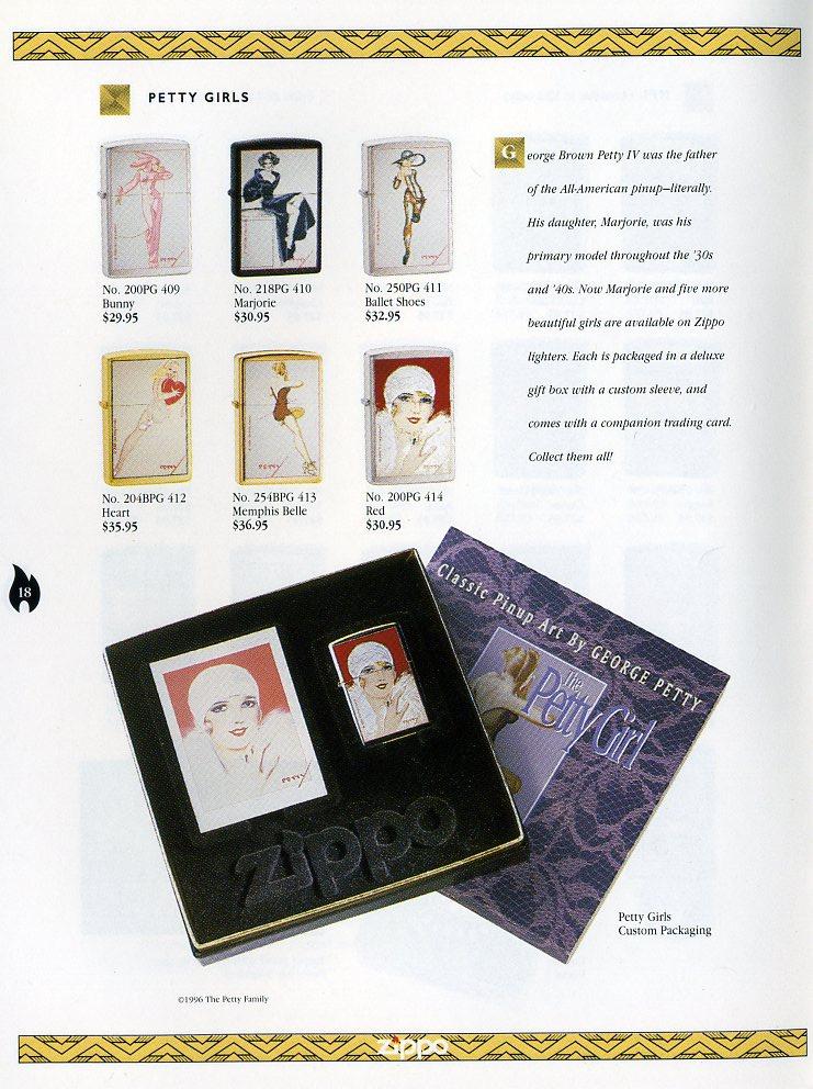 Catalogue ZIPPO Collection 1997 (version américaine) 1811
