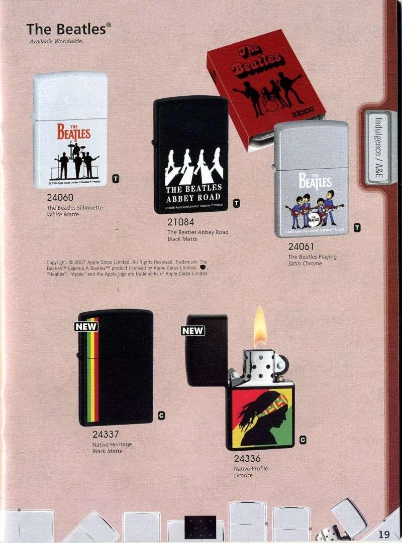 Catalogue ZIPPO 2008 Complete line (version américaine) 1911