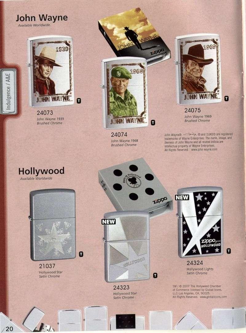 Catalogue ZIPPO 2008 Complete line (version américaine) 2010