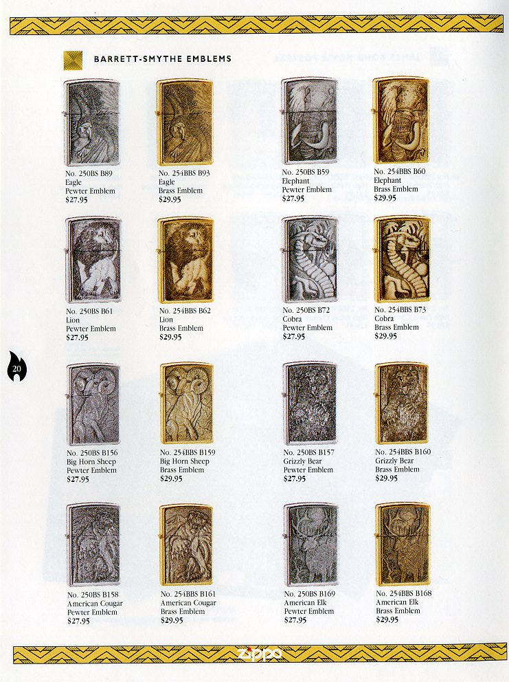 Catalogue ZIPPO Collection 1997 (version américaine) 2012