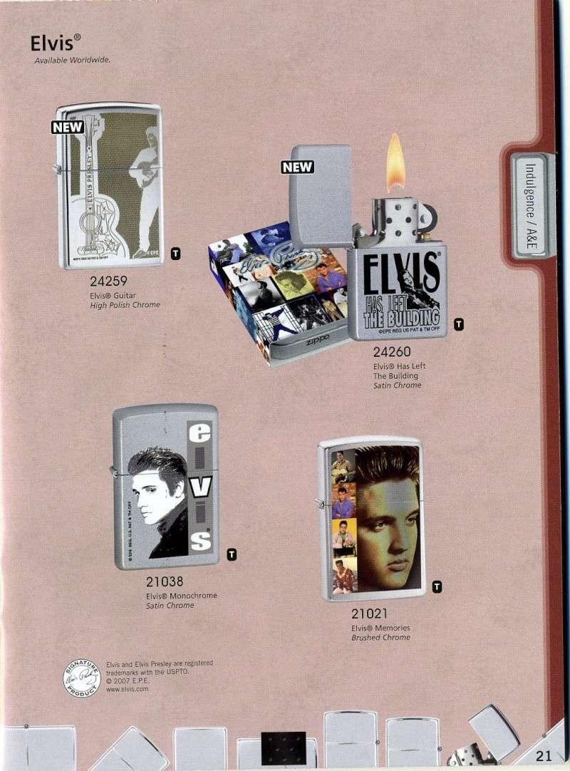 Catalogue ZIPPO 2008 Complete line (version américaine) 2110