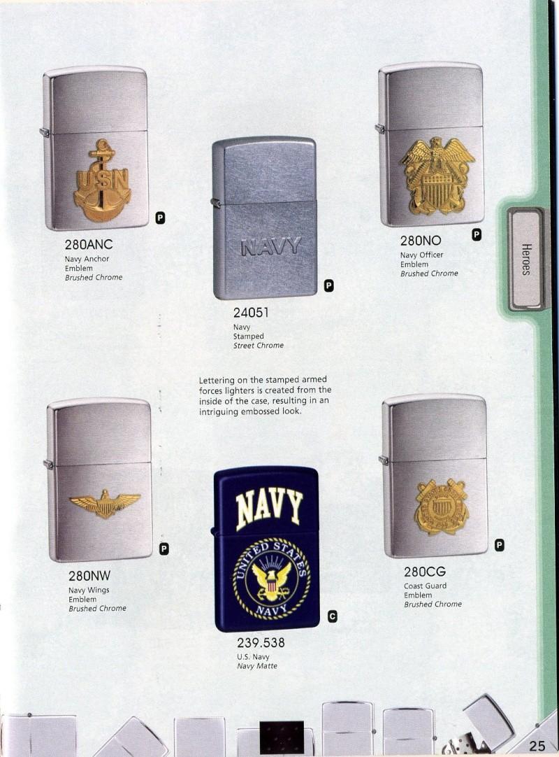 Catalogue ZIPPO 2008 Complete line (version américaine) 2510