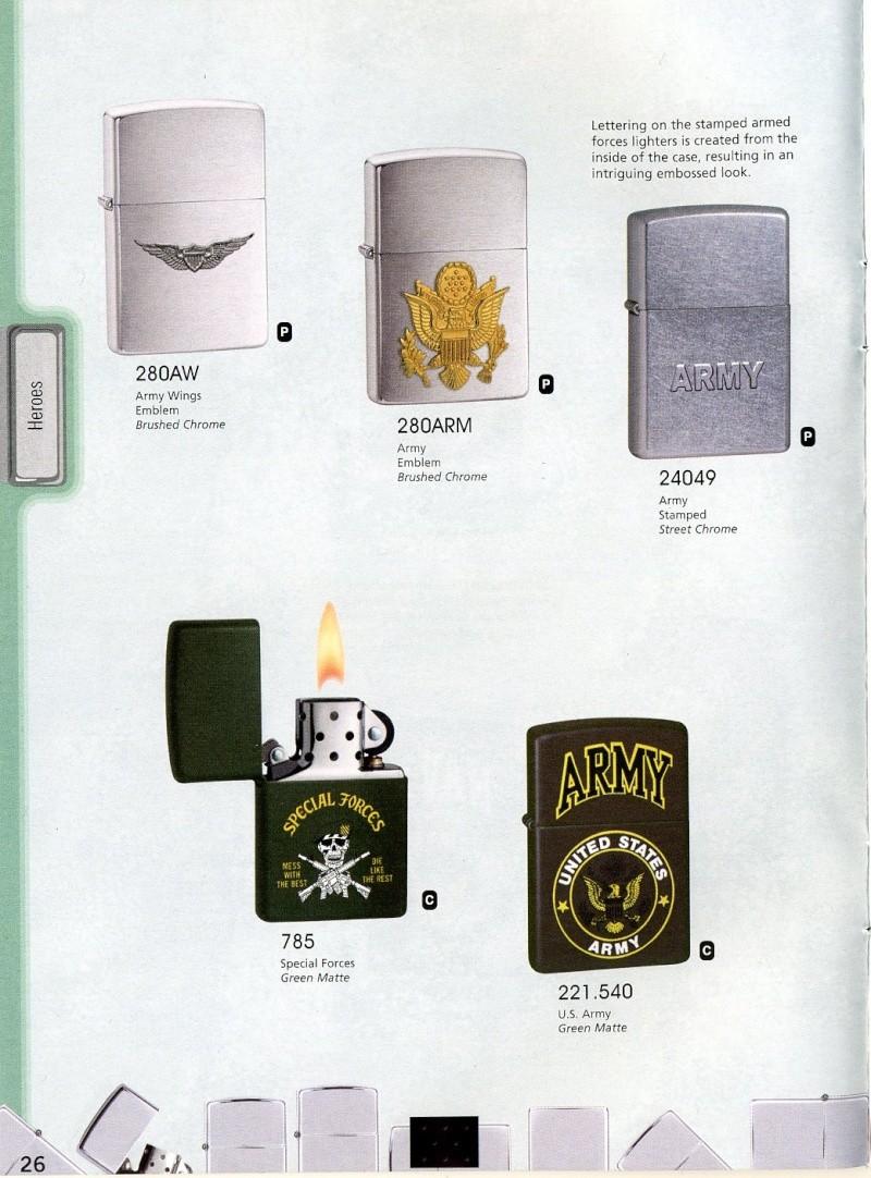 Catalogue ZIPPO 2008 Complete line (version américaine) 2610