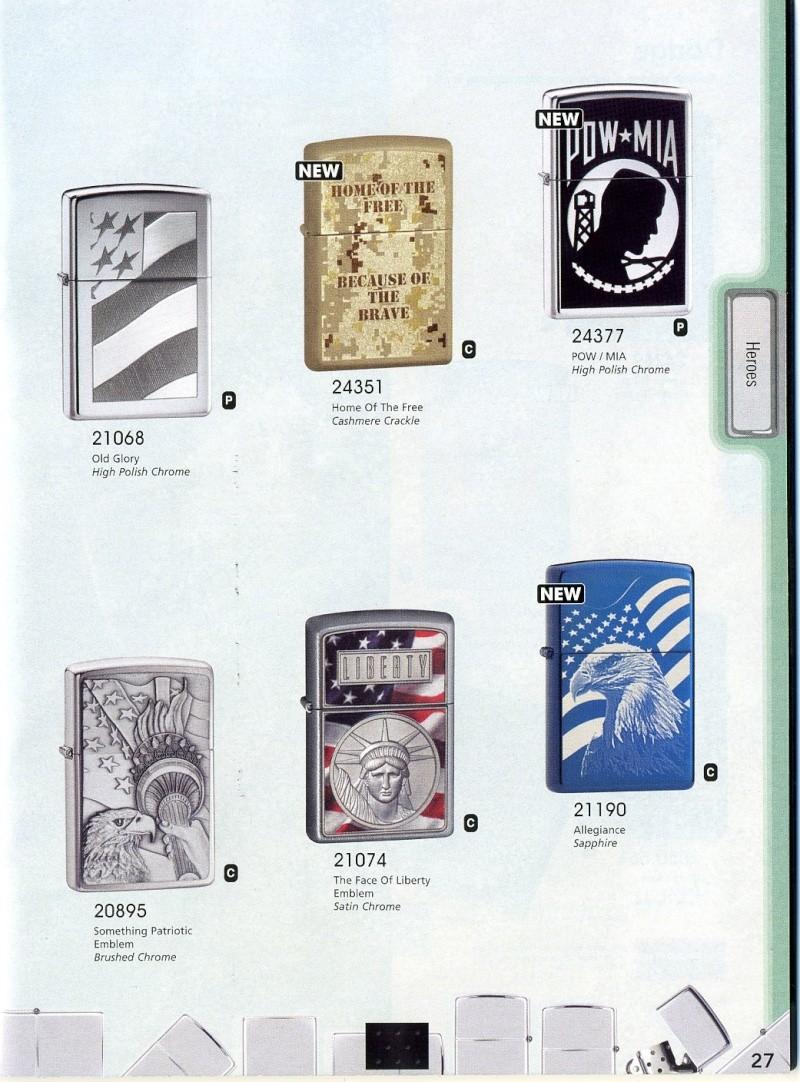 Catalogue ZIPPO 2008 Complete line (version américaine) 2710