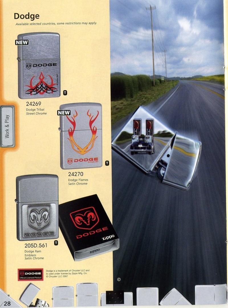 Catalogue ZIPPO 2008 Complete line (version américaine) 2810