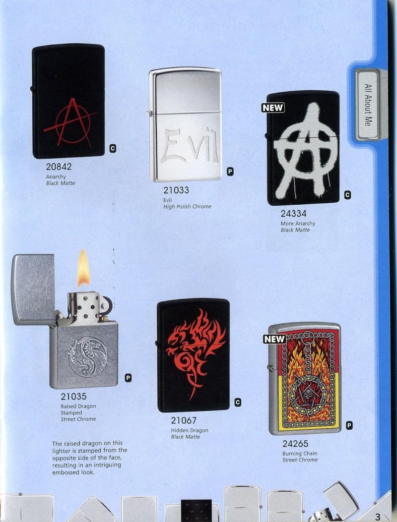 Catalogue ZIPPO 2008 Complete line (version américaine) 310
