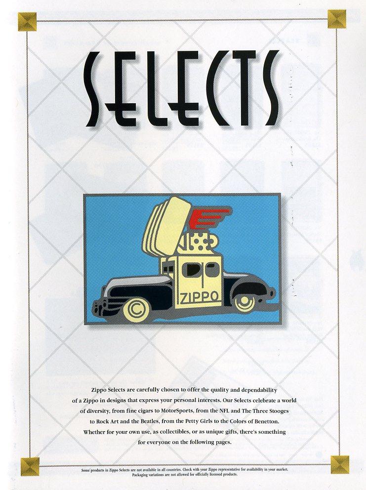 Catalogue ZIPPO Collection 1997 (version américaine) 311