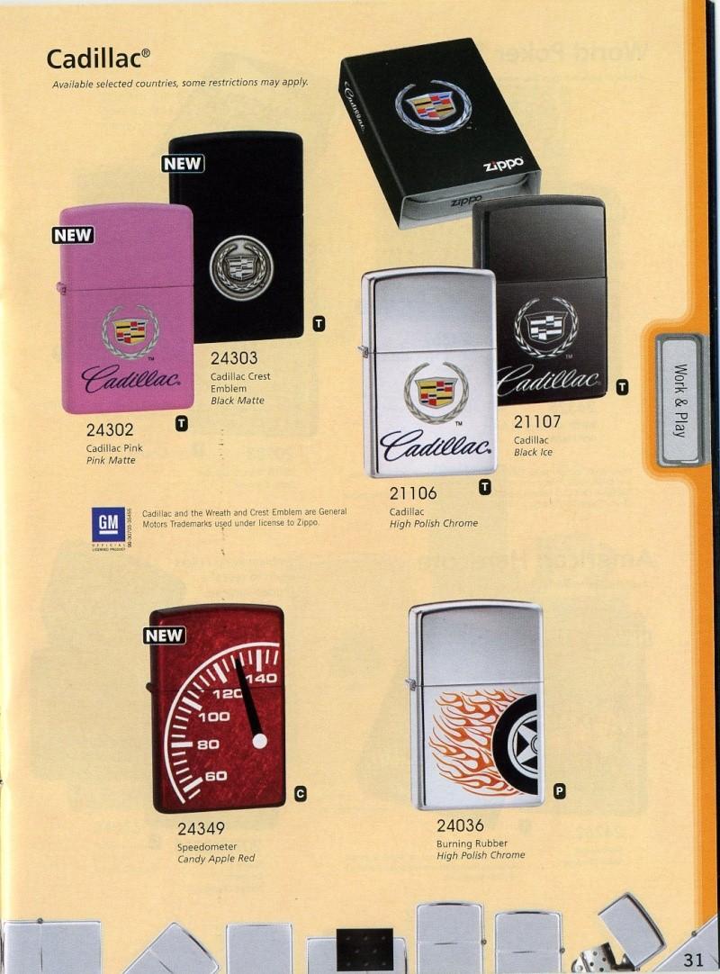 Catalogue ZIPPO 2008 Complete line (version américaine) 3110