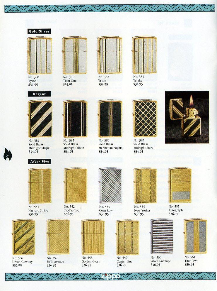 Catalogue ZIPPO Collection 1997 (version américaine) 3211
