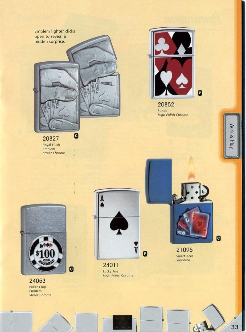 Catalogue ZIPPO 2008 Complete line (version américaine) 3310