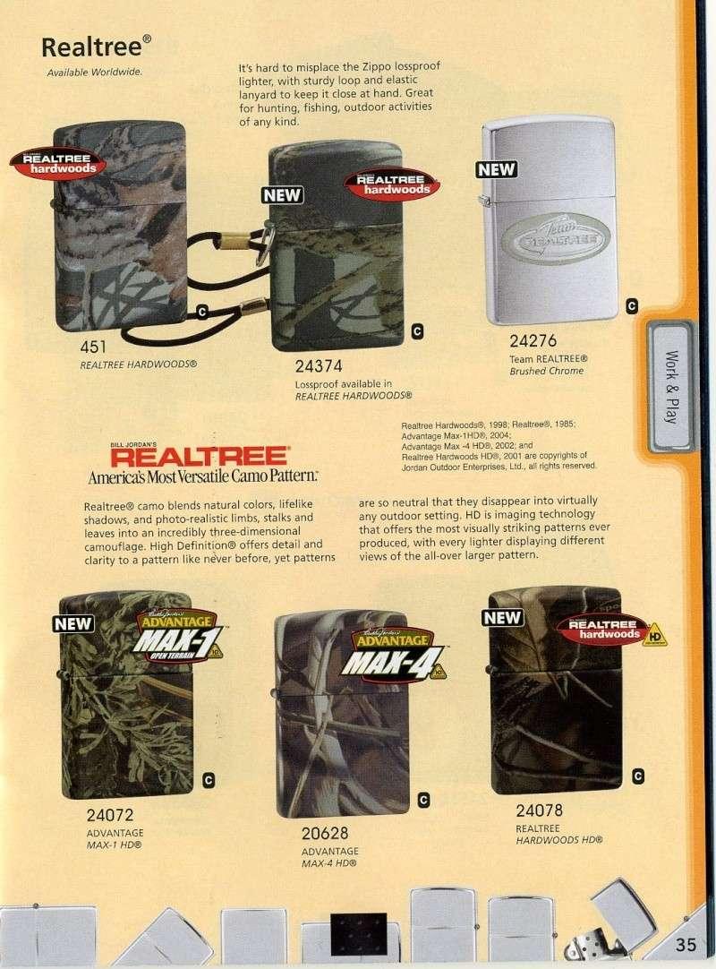 Catalogue ZIPPO 2008 Complete line (version américaine) 3510