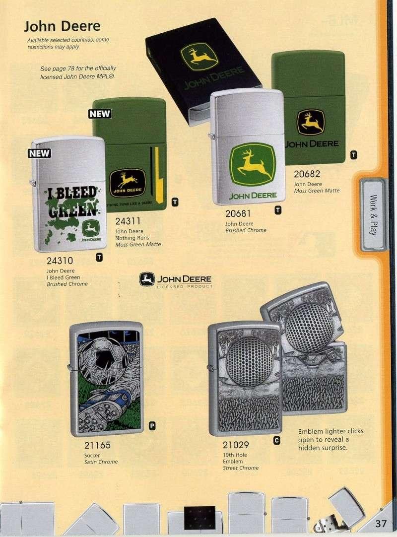Catalogue ZIPPO 2008 Complete line (version américaine) 3710