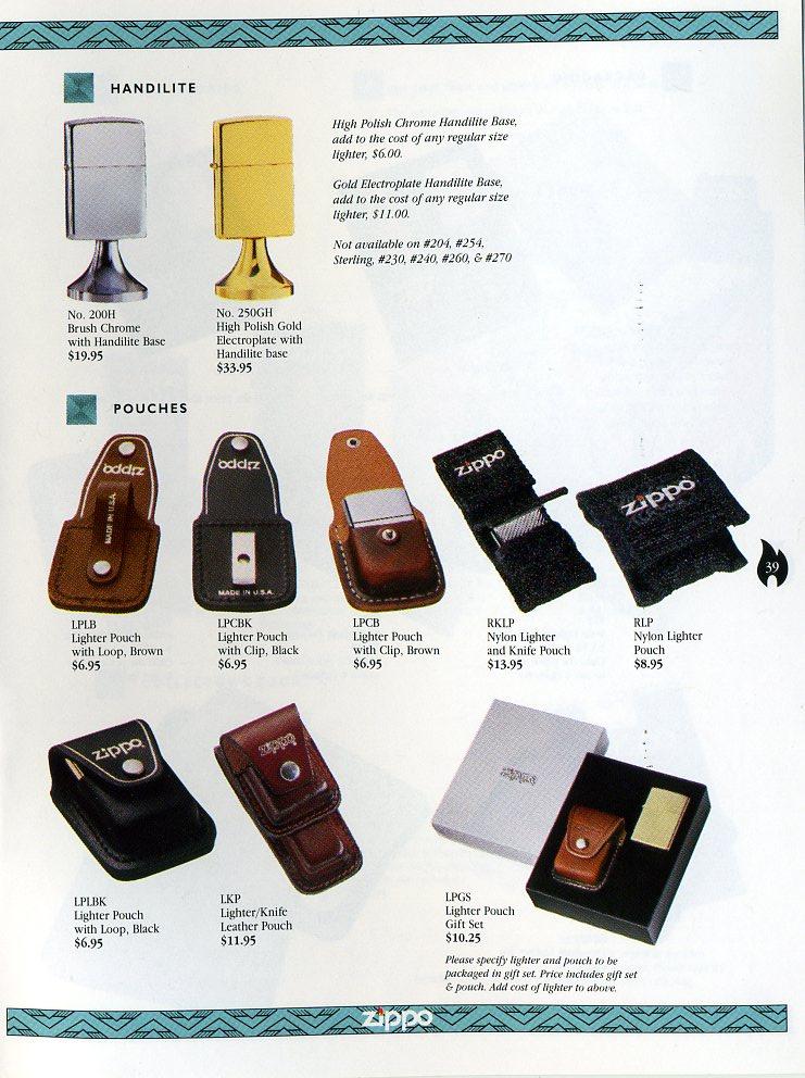 Catalogue ZIPPO Collection 1997 (version américaine) 3911