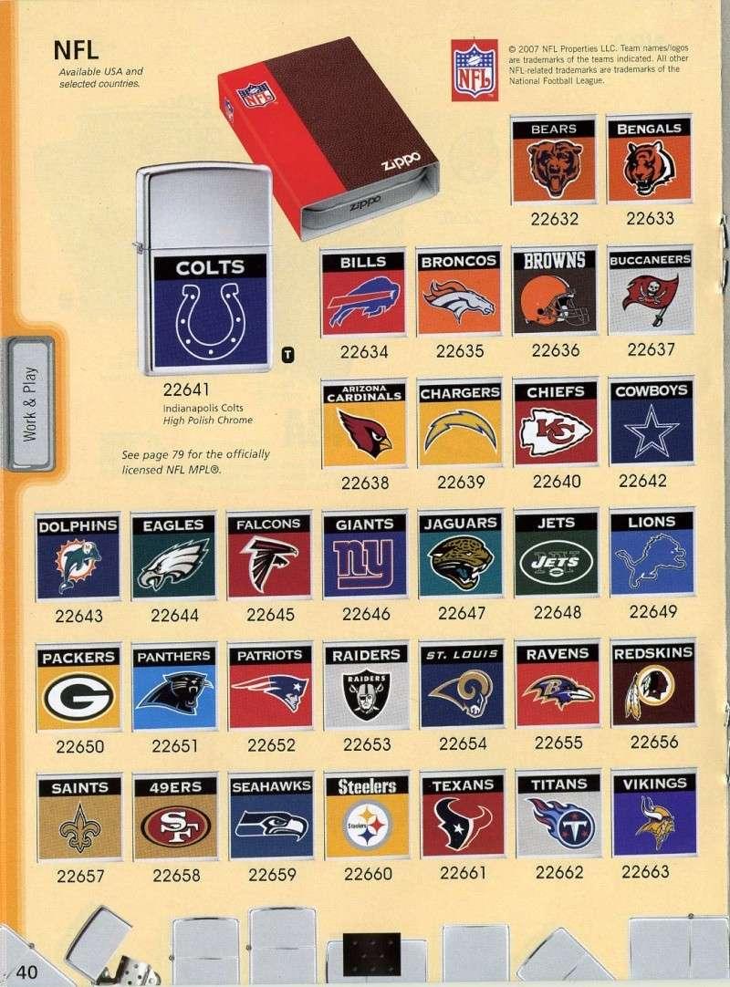 Catalogue ZIPPO 2008 Complete line (version américaine) 4010